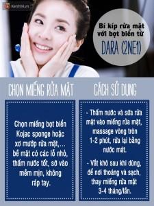 """Ba """"tuyệt chiêu"""" giúp da đẹp ở mọi độ tuổi của Dara (2NE1)"""