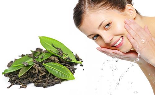 5 cách sử dụng trà xanh cho da mặt sáng hồng - 3