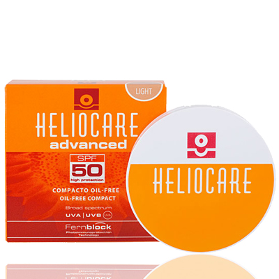 Phấn Nền Chống Nắng Heliocare Compact Brown SPF50
