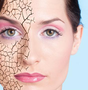 Kết quả hình ảnh cho hình ảnh da bị mất nước