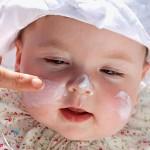 Kem chống nắng tự tạo cho bé